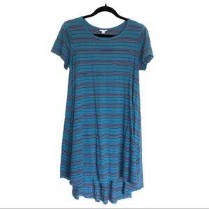 LulaRoe Carly Striped Tunic Dress